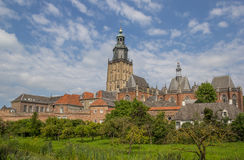 Historical city center of Zutphen Stock Images