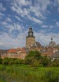 Historical city center of Zutphen Stock Image