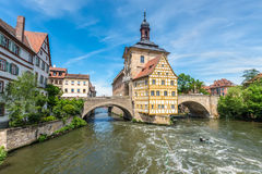 Historical city hall of Bamberg, Germany Stock Photography