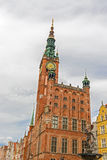 Historical city hall in Gdansk Stock Photography