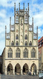 Historical City Hall of Munster, Germany Stock Image