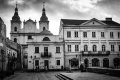 The historical city Piotrkow Trybunalski, central Poland, first jewish ghetto established by Germans in the occupied Poland. Royalty Free Stock Image