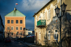 The historical city Piotrkow Trybunalski, central Poland, first jewish ghetto established by Germans in the occupied Poland. Royalty Free Stock Photo