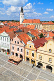 Historical city of Trebon, Czech Republic Royalty Free Stock Image