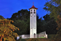 Historical Clock tower. Atkinson Memorial Clock Tower is one of the historical from the British colonial in Sabah Malaysia stock photos