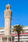 Historical clock tower, Izmir city, Turkey Stock Image
