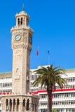 Historical clock tower, Izmir city, Turkey Stock Image