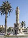 Historical Clock Tower. Of Izmir, Turkey Royalty Free Stock Photo