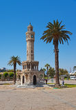 Historical Clock Tower of IzmirTurkey Stock Image