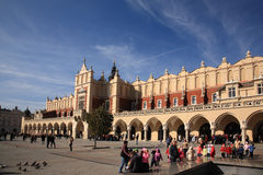 Cloth Hall, Krakow, Poland Stock Image
