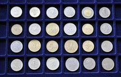 Historical coins Royalty Free Stock Photography