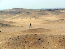 Pyramids of giza: cairo egypt royalty free stock photography
