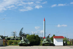 Historical complex Stalin Line Stock Images