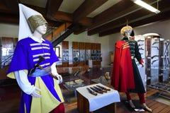 New Castle, Indoor Exposition, Banska Stiavnica, Slovakia, UNESCO royalty free stock photography