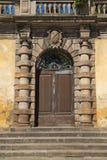 Historical decorative door Stock Photo