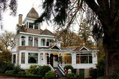 Historical Deepwood Estate in Salem, Or Stock Image
