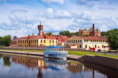 Historical district of Ivanovo in summer Stock Photo