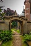 Historical, eight setletni convent, the nuns of the Benedictine. Abbey, Staniatki near Krakow in Poland royalty free stock images