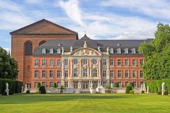 Electoral Palace at Trier Royalty Free Stock Image
