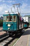 Historical electric locomotive Stock Photo