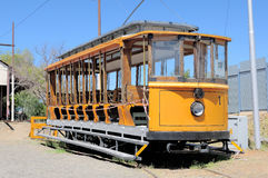 Historical electrical tram Royalty Free Stock Image