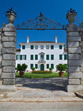 Historical elegant residence of Villa Beretta Stock Photography