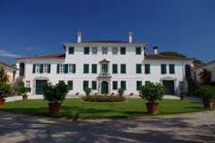 Historical elegant residence of Villa Beretta Stock Images