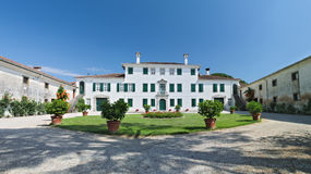 Historical elegant residence of Villa Beretta Royalty Free Stock Images