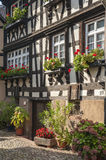 The historical Engelgasse in the old town of Gengenbach Stock Photography