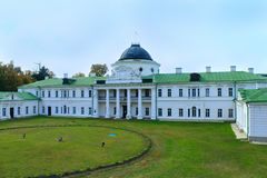 Historical estate in Kachanivka with great park and architectural ensemble royalty free stock photos