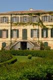 Historical Estoublon castle in Fontvieille Royalty Free Stock Photos