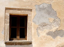 Historical Facade. A historical facade with a window Royalty Free Stock Images