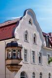 Historical facade - Bayreuth royalty free stock photos