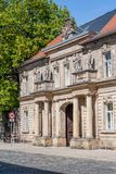 Historical facade - Bayreuth old town Royalty Free Stock Photography