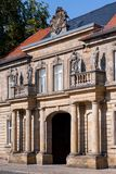 Historical facade - Bayreuth old town Stock Photography