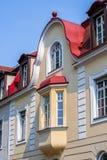 Historical facade - Bayreuth stock photo