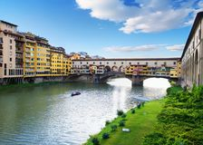 Ponte Vecchio in Florence. Historical and famous Ponte Vecchio in Florence, Italy Stock Photography