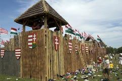 Historical festival, Bosztorpuszta, Hungary Stock Photos