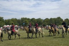 Historical festival, Bosztorpuszta, Hungary Stock Photography