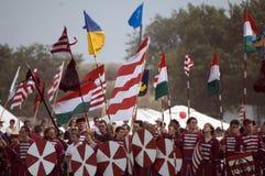 Historical festival, Bosztorpuszta, Hungary Stock Images