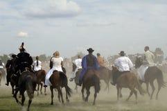 Historical festival, Bosztorpuszta, Hungary Royalty Free Stock Image