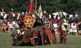 Historical festival, Bugac, Hungary Royalty Free Stock Photography