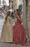 Historical Festival Giostra in Porec, Croatia. Stock Photos