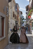 Historical Festival Giostra in Porec, Croatia. Stock Image