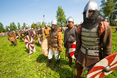 Historical festival of medieval culture Royalty Free Stock Photos