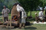 Historical Festival in Moscow, Kolomenskoye Park. Stock Photography
