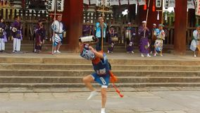 Historical festival, Nara, Japan stock footage