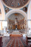 Historical Filipino Church interior Stock Photos