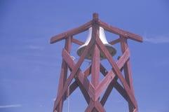 Historical fire bell, Branson, Colorado Stock Photo