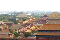 The historical Forbidden City in Beijing Stock Photography